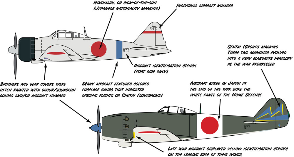 Japanese aircraft markings and camouflage